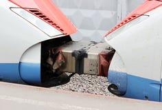 соединение 2 автомобилей быстроходного поезда Стоковые Изображения