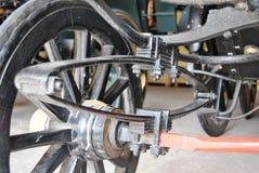 Соединение амортизатора удара в тележке Стоковая Фотография RF