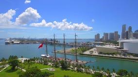 Соединение городской Майами BAP Vlog акции видеоматериалы
