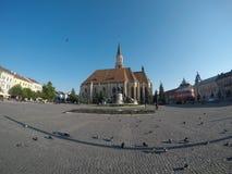 Соединение квадратный Cluj стоковая фотография rf