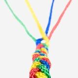 Соединение концепции, сыгранность и сотрудничество, веревочки connec Стоковое Изображение RF