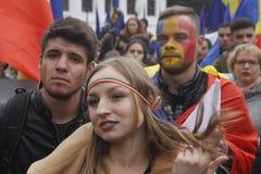 Соединение Румыния и Молдавия в марте Стоковые Изображения