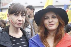 Соединение Румыния и Молдавия в марте Стоковые Фото
