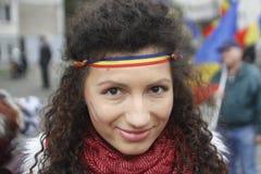 Соединение Румыния и Молдавия в марте Стоковая Фотография RF