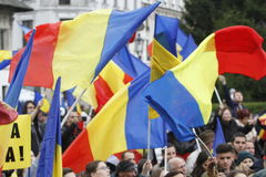 Соединение Румыния и Молдавия в марте Стоковое Изображение RF