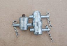 Соединения, алюминий Стоковые Фотографии RF