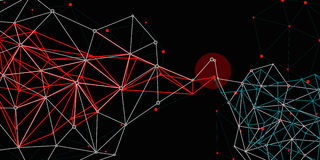 Соединения сетей стоковое изображение rf