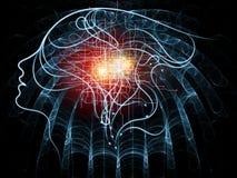 соединения 3d произвели людское изображение Стоковые Изображения RF