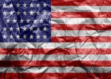соединенные государства флага америки Стоковое Изображение RF