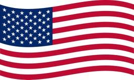 соединенные государства флага америки Стоковая Фотография RF