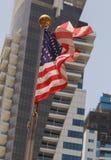 соединенные государства флага Стоковые Изображения RF