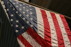 соединенные государства флага Стоковые Изображения