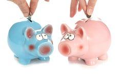 соединенные сбережения Стоковые Изображения RF