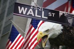 Соединенные Штаты Америки - нью-йоркская биржа Стоковые Изображения RF