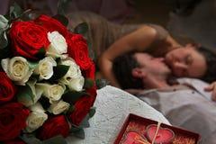 соедините влюбленность Стоковое Фото