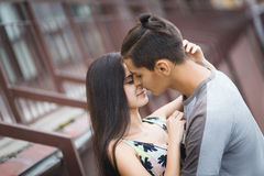 соедините детенышей влюбленности Стоковые Фотографии RF