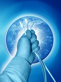 соедините мир Стоковые Изображения RF