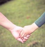 Соедините руки Стоковая Фотография RF