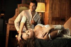 соедините сексуальное Стоковые Фотографии RF