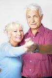 соедините старший танцы Стоковая Фотография