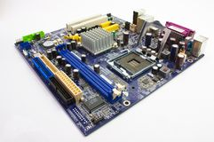 Соединитель для процессора Стоковая Фотография RF