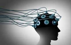 Соединять мозга бесплатная иллюстрация