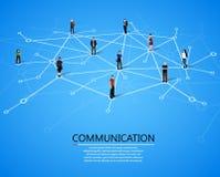 Соединяясь люди принципиальная схема цифрово произвела высокий social res сети изображения