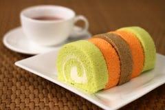 Сожмите торт крена Стоковая Фотография RF
