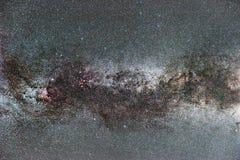 Созвездие млечного пути и Cygnus Северный крест Стоковые Фотографии RF