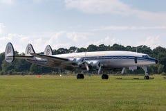 "Созвездие Breitling Lockheed L-1049F супер ""Star  HB-RSC Switzerland†стоковое изображение rf"