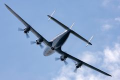 "Созвездие Breitling Lockheed L-1049F супер ""Star  HB-RSC Switzerland†стоковые фотографии rf"