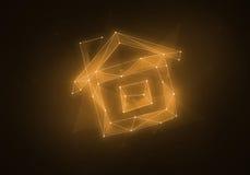 Созвездие вычисляемое домом Стоковые Изображения