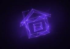 Созвездие вычисляемое домом Стоковая Фотография RF