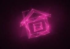 Созвездие вычисляемое домом Стоковое Изображение