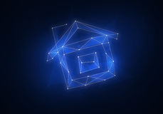 Созвездие вычисляемое домом Стоковое фото RF