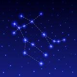 Созвездие Джемини Стоковая Фотография