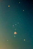 Созвездие Ориона Стоковые Фото