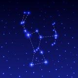 Созвездие Ориона Стоковая Фотография