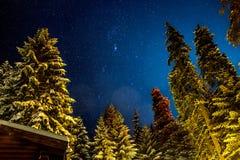 Созвездие Орион Стоковое Фото