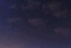 Созвездие Sirius и Ориона Стоковое Изображение