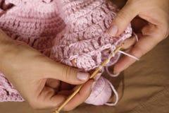 Создаваться handcraft одежда Стоковые Изображения RF