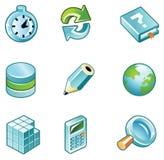 создайте иконы Стоковые Фотографии RF
