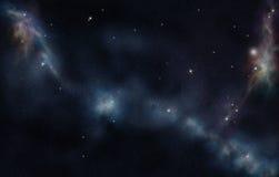 созданное цифровое starfield Стоковое Фото