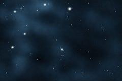 созданное цифровое starfield Стоковые Фото