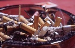 созданный суматоху ashtray Стоковые Изображения