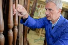 Создатель мебели на мастерской Стоковая Фотография RF