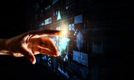Создавать новаторские технологии Мультимедиа Стоковая Фотография RF