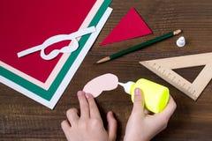 Создавать украшение рождества для сервировки стола Раздел 4 Стоковое Фото