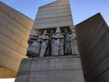 Создатели болгарского памятника положения стоковые изображения