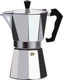 создатель кофе итальянский традиционный Стоковое Изображение